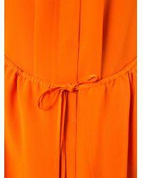 Christian Wijnants Orange Sleeveless Dress