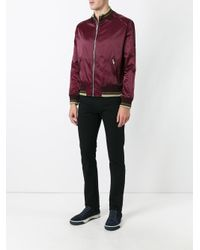 Versace | Black Skinny Jeans for Men | Lyst