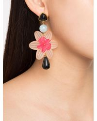 Lizzie Fortunato - Pink 'mariposa' Earrings - Lyst