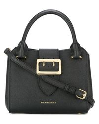Burberry | Black Gold-tone Hardware Tote | Lyst