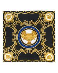 Versace Black La Coupe Des Dieux Scarf