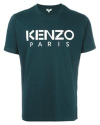 KENZO | Green Paris T-shirt for Men | Lyst