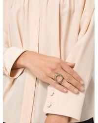 Rosa Maria - Metallic Circle Ring - Lyst