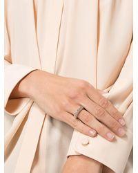 Rosa Maria - Metallic Studded Asymmetric Ring - Lyst