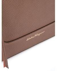 Ferragamo - Brown - Samy Backpack - Women - Calf Leather - One Size - Lyst
