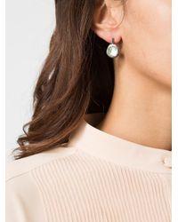 Rosa Maria | Metallic Drop Earrings | Lyst