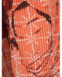 Homme Plissé Issey Miyake | Red Geisha Print Shorts for Men | Lyst