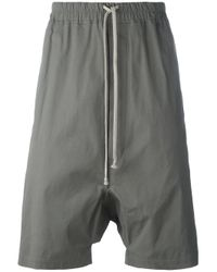 Rick Owens | Brown Pod Shorts for Men | Lyst
