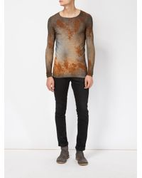 Avant Toi - Multicolor Rust Effect Jumper for Men - Lyst