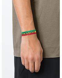 Palm Angels - Green Backstage Bracelet for Men - Lyst