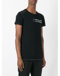 Ann Demeulemeester Grise | Black Birds Print T-shirt for Men | Lyst