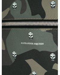 Alexander McQueen | Green Camouflage Print Messenger Bag for Men | Lyst