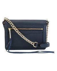 Rebecca Minkoff | Blue Avery Crossbody Bag | Lyst