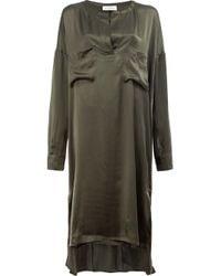 Faith Connexion | Green Chest Pocket Dress | Lyst