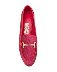Ferragamo Pink 'ethan' Slippers