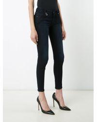 Neuw Black Super Skinny Cropped Jeans