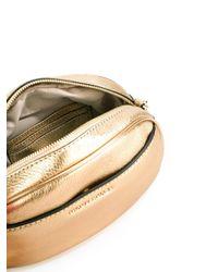 MICHAEL Michael Kors - Metallic Medium Ginny Studded Crossbody Bag - Lyst