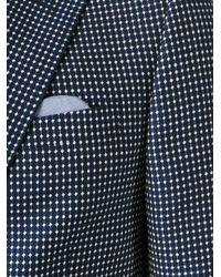 Z Zegna | Blue Patterned Blazer for Men | Lyst