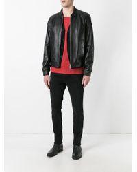 DSquared² - Black Classic Bomber Jacket for Men - Lyst