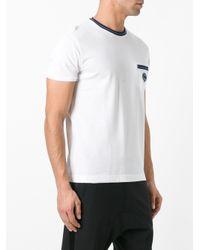 Fendi - White Striped Trim T-shirt for Men - Lyst