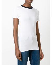 MICHAEL Michael Kors - White Crew Neck T-shirt - Lyst