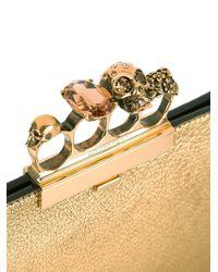Alexander McQueen - Metallic Knuckle Box Case - Lyst