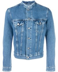 Acne | Blue Who Denim Jacket for Men | Lyst