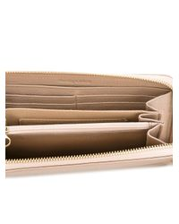 See By Chloé | Natural See By Chloé Zip Around Wallet | Lyst