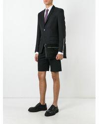Balenciaga - Black - Crocodile Effect Clutch - Men - Leather - One Size for Men - Lyst