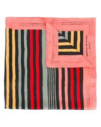 Sonia Rykiel | Multicolor Striped Scarf | Lyst