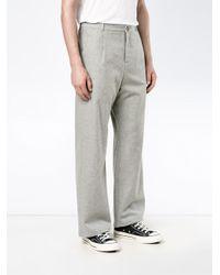 Lot78 | Gray Wide-leg Trousers for Men | Lyst