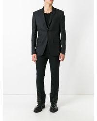Alexander McQueen - Black Printed Straight-leg Trousers for Men - Lyst