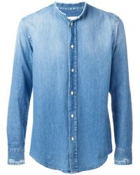 Dondup | Blue Deo Shirt for Men | Lyst