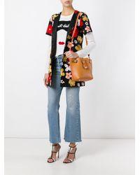 Sophia Webster - Brown Romy Mini Leather Bucket Bag - Lyst