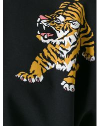 Giamba - Black Tiger Print Loose-fit T-shirt - Lyst