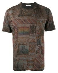Valentino | Multicolor Printed T-shirt for Men | Lyst