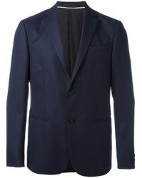 Z Zegna | Blue Single Breasted Blazer for Men | Lyst