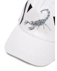 Off-White c/o Virgil Abloh | White Othelo Scorpion Cap for Men | Lyst