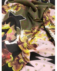 Givenchy - Multicolor Floral Star Print Scarf - Lyst