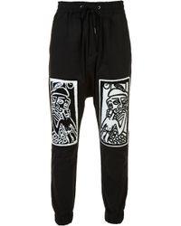 Haculla | Black Printed Track Pants for Men | Lyst