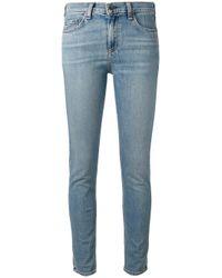 Rag & Bone | Blue Skinny Jeans | Lyst
