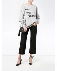 Ashish - Gray Pigs Are Flying T-shirt - Lyst
