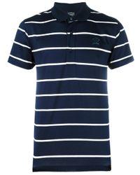 Paul & Shark | Blue Striped Polo Shirt for Men | Lyst