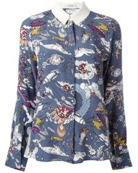 Dorothee Schumacher | Blue Fantastic Journey Shirt | Lyst