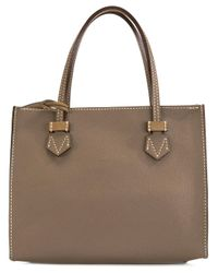 Moreau Multicolor Small Contrast Tote Bag