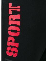 Philipp Plein Black - Derek Track Pants - Men - Cotton - S for men