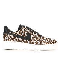 Nike Black Air Force 1 '07 Lx Sneakers