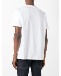 Palm Angels - White Chest Patch T-shirt for Men - Lyst