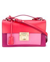 b575dbd1f43d Ferragamo Aileen Shoulder Bag in Pink - Lyst