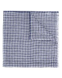 Brioni | Blue - Fringed Scarf - Men - Silk/linen/flax - One Size for Men | Lyst